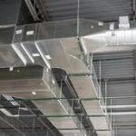 air duct system in house